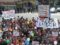 La manifestació contra el POUM de Calafell aplega més d'un miler de persones a Segur